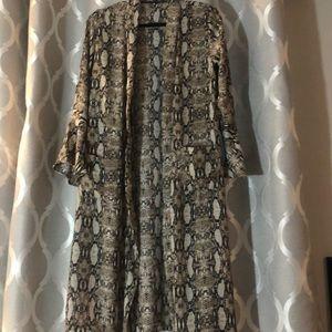 Jackets & Blazers - Python Kimono